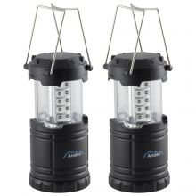 Andes LED Collapsible Camping Light 2 PACK