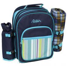 Andes 2 Person Picnic Backpack/Hamper Set