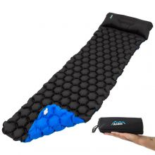 Andes Inflatable Lightweight Camping Travel Mat with Pillow