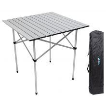 Andes Folding Aluminium Picnic Table 70 x 70 x 70cm