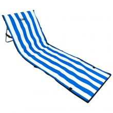 Andes Portable Folding Beach Lounger Mat Chair