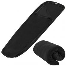Adtrek Mummy Sleeping Bag Liner Micro Fleece Inner Sheet Camping