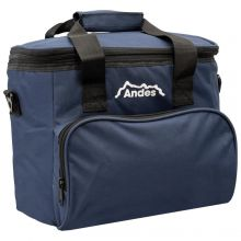 Andes Insulated 12V Electric 15L Cool Bag Navy