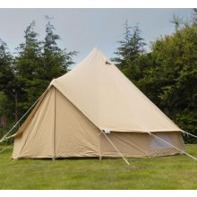 Andes 5m 100% Cotton Canvas Bell Tent With Heavy Duty SIG Groundsheet
