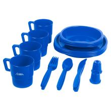 Andes 4 Person Plastic Cutlery Set