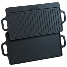 Andes Cast Iron Double Sided Grill Pan
