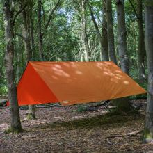 Andes 3m x 3m Orange Tarpaulin
