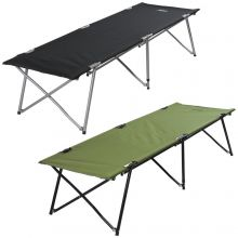 Andes Folding Portable Lightweight Single Camping Camp Bed